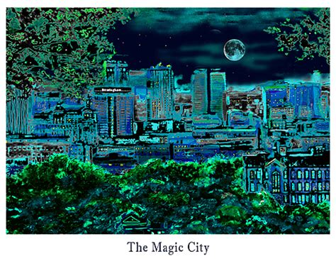 paint nite birmingham birmingham al skyline canvas print photo poster city