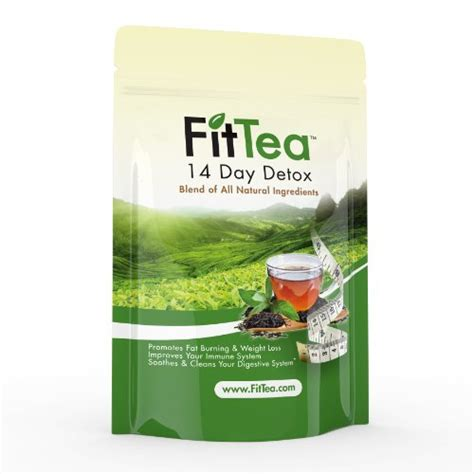 8 Day Detox Redbox by Fit Tea 14 Day Detox Herbal Weight Loss Tea