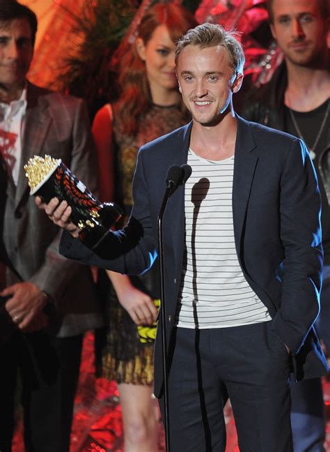 film z emma watson i tom felton tom felton photos photos 2011 mtv movie awards show