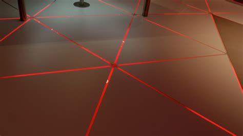 Floor With Lights by Pixel Line Floor Lights Kinetic Lights