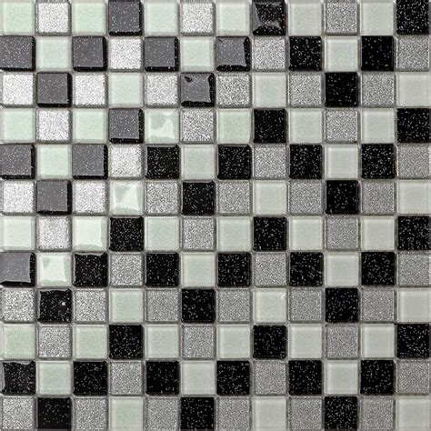 Tile Bordir Glitter trade budget glitter mosaic tile sheets glass bathroom