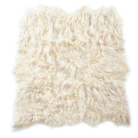 sheeps skin rug fibre by auskin artic sheepskin six pelt rug