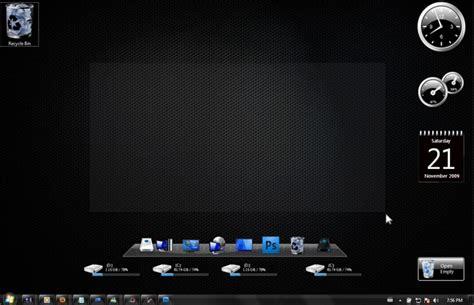 temas de escritorio windows 7 tema negro para windows 7 ahorro energia