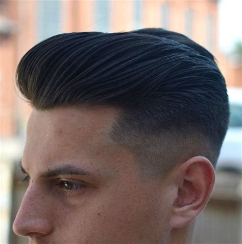 Classy Modern Pompadour with Undercut for Short Hair Men   Latest Hair Styles   Cute & Modern