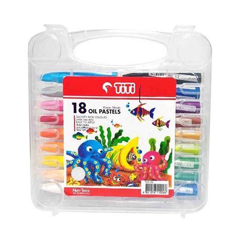 Crayon 18 Warna Pascola jual titi pastels crayon 18 pcs harga kualitas terjamin blibli