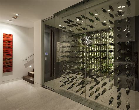 home wine storage modern wine cellar interior design ideas