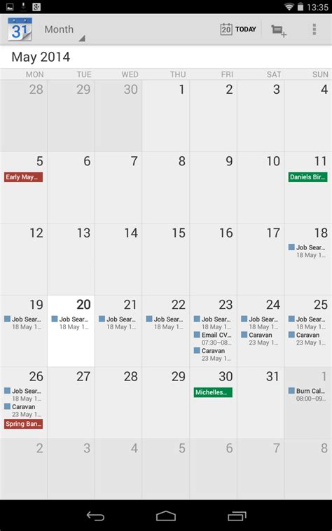 I Calendar On Android Calendar For Ios Chrome Chrome Os Android