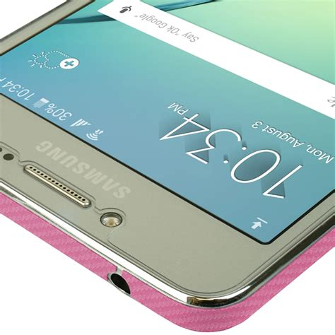 Samsung Galaxy J2 Prime Carbon Fiber Softcase samsung galaxy j2 prime techskin pink carbon fiber skin