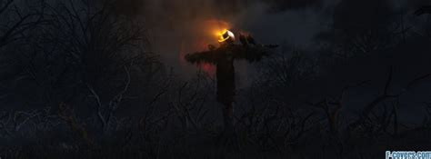 halloween scarecrow facebook cover timeline photo banner  fb