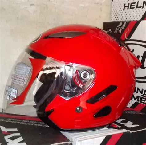 Helm Kyt R 10 Solid Terbaru jual helm kyt galaxy slide solid polos toko helm