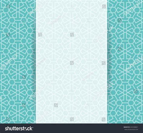 islamic pattern design vector islamic pattern greeting ramadan flyer islamic stock