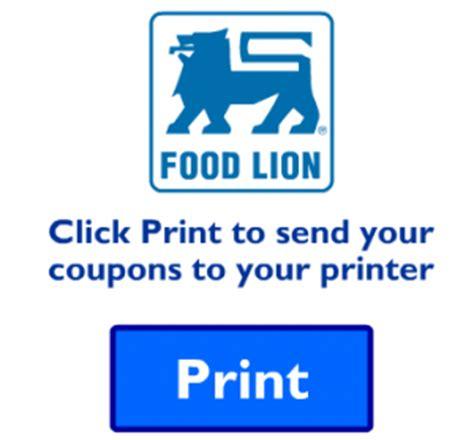 printable food lion coupons food lion printable coupon 5 off 30 southern savers