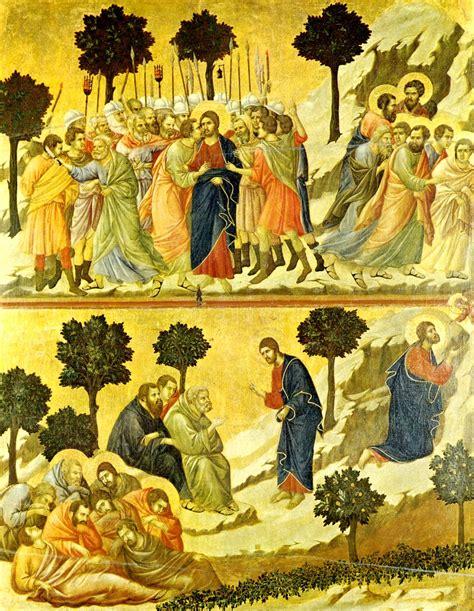 duccio betrayal of christ story betrayal of jesus duccio