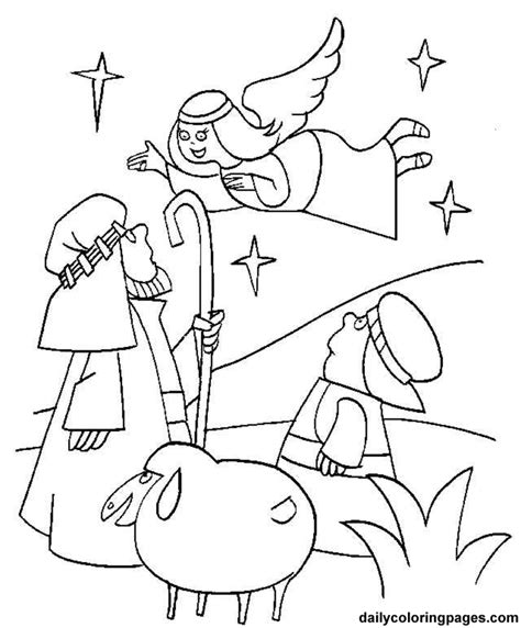 free christian christmas coloring pages coloring home