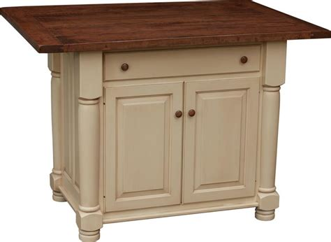 kitchen island leg amish turned leg kitchen island with two doors