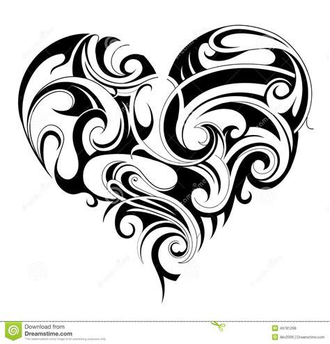 xs tattoo prices heart shape tattoo stock vector illustration of valentine
