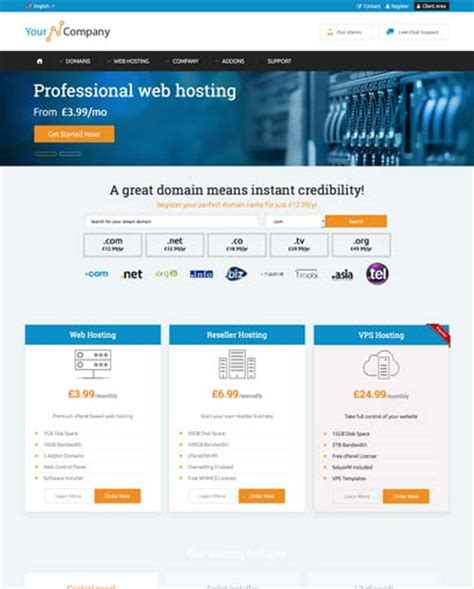 php responsive template a highly professional website
