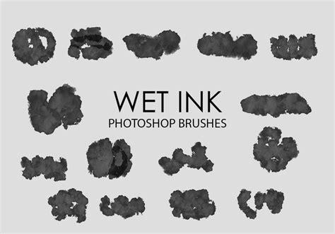 pattern wet brush free wet ink photoshop brushes 5 grunge photoshop