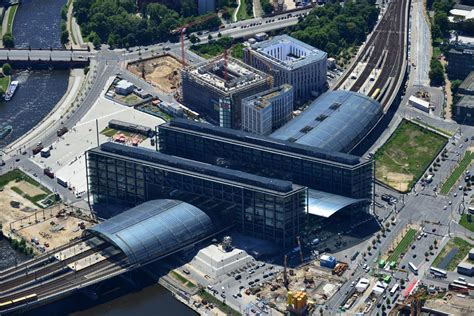 Two Story Houses by Hauptbahnhof Berlin S Epic Central Station Awesome Berlin