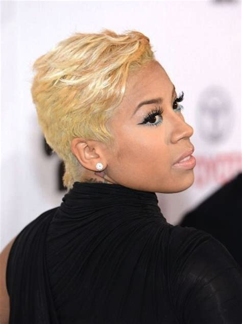 hairstyles for turning 30 short hairstyles and cuts keyshia blonde wavy pixie