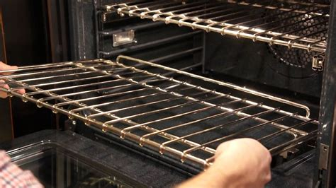 how to remove oven glide racks
