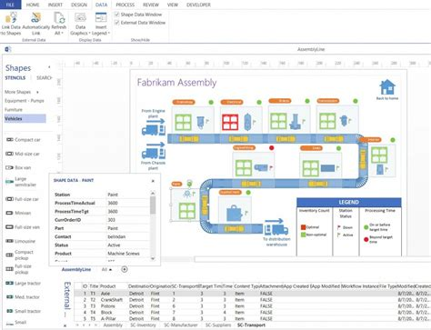Visio Design Vorlagen Buy Microsoft Visio 2016 Professional 64 Bit For Windows Cd