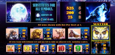 lets play  timber wolf slot game  aristocrat   real money