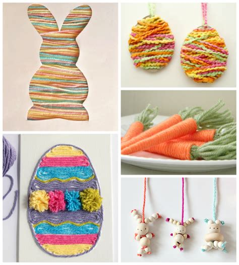 yarn crafts for 10 easter yarn crafts for yarn fix
