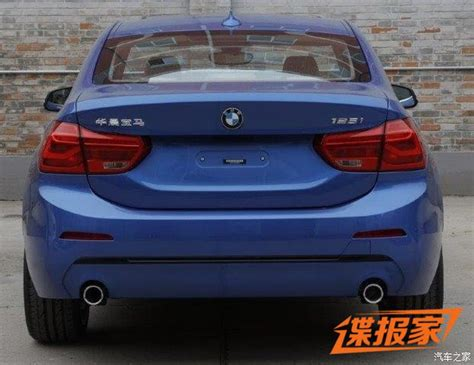 Bmw 1er Reihe by New Photos Of 2017 Bmw 1 Series Sedan For China Will Get