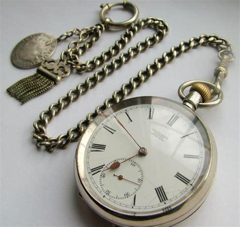 antique 1910 omega pocket chain 305277