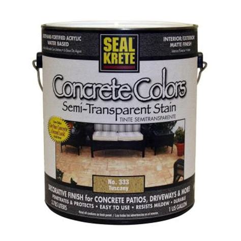 seal krete 1 gal concrete colors tuscany discontinued