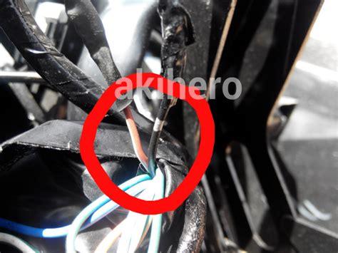 Spakbor Depan Vario 125150 Led pasang saklar headl new vario 125 150 akihero