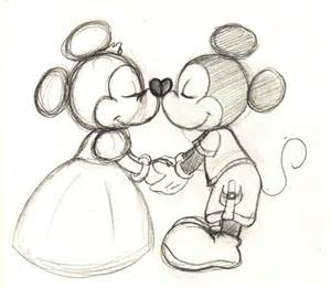 fashioned mickey minnie drawing google