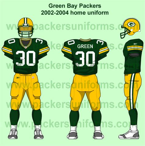 the wearing of the green and gold uniform timeline