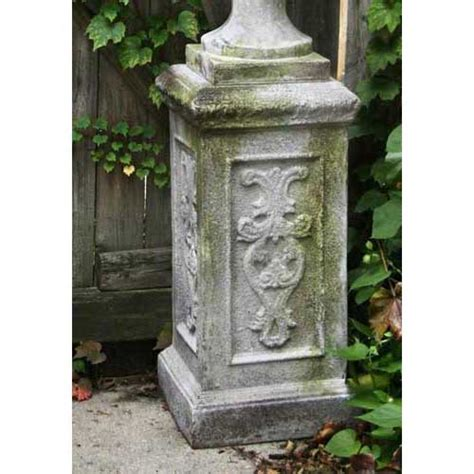 Pedestal Garden Planters by 23 Quot Liberick Pedestal Base Can Hold A Statue Or Planter