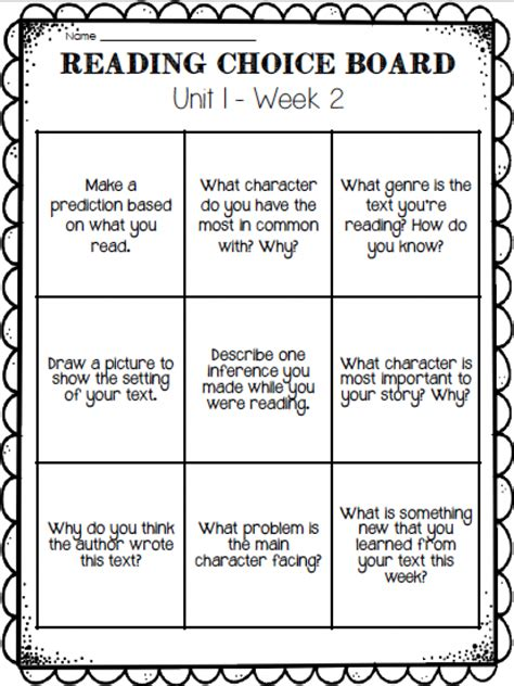 4th grade reading comprehension worksheets choice guided reading ashleigh s education journey