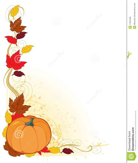 Fall Leaves Border Clipart Clipart Panda Free Clipart Images Fall Border Templates