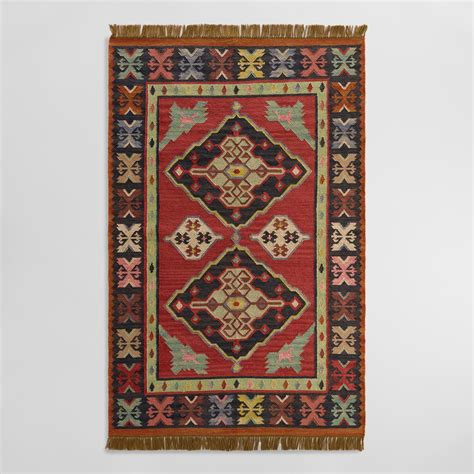 Outdoor Kilim Rug Kilim Reversible Esme Indoor Outdoor Rug World Market