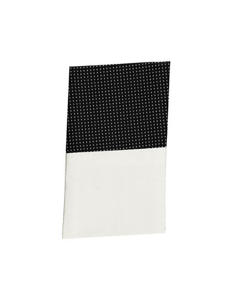 Black & White Silk Pin Dot Pocket Square   Hawes & Curtis