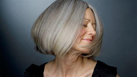 frisuren graue haare frisuren mittellang