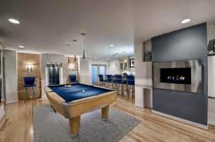 modern basements very modern basement remodel by moss