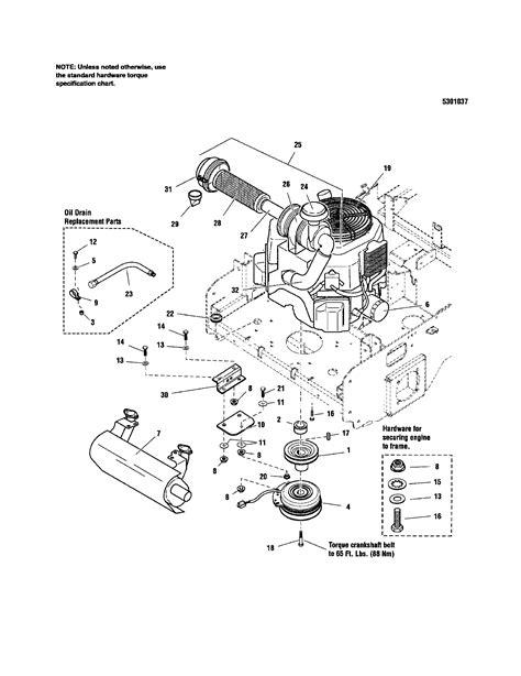 kohler engine parts diagram craftsman lawn mower carburetor diagram kohler command 15