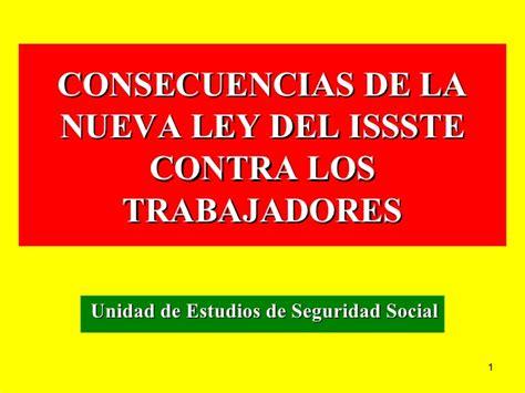 Habra Cambios En La Ley Del Issste Del Decimo Transitorio En 2016 | presentacion nueva ley issste newhairstylesformen2014 com