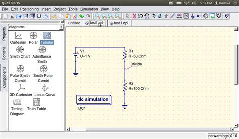 circuit simulation software ubuntu circuit and