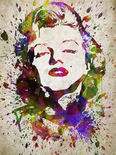 marilyn in color marilyn in color digital by aged pixel