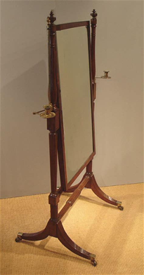 Antique Cheval Mirror : Misc Antique Items   Antique