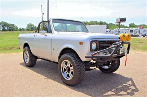 Jeep Scout 1979 International Scout Ii V8 4x4 Land Rover Vintage