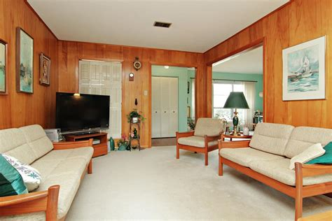 wood paneling living room mid century wood paneling living room