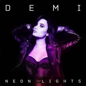 demi lovato neon lights my cover by wyrywny on