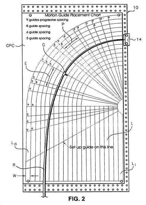 fishing rod table l patent us7251903 method for spacing guides on fishing